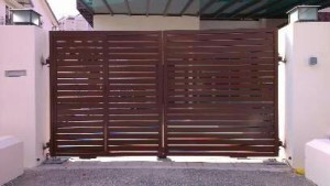 Aluminum Main Door Gate