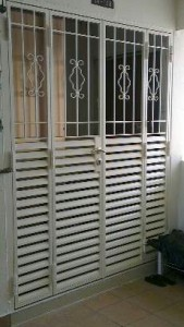 Wrought Aluminium Door Gate