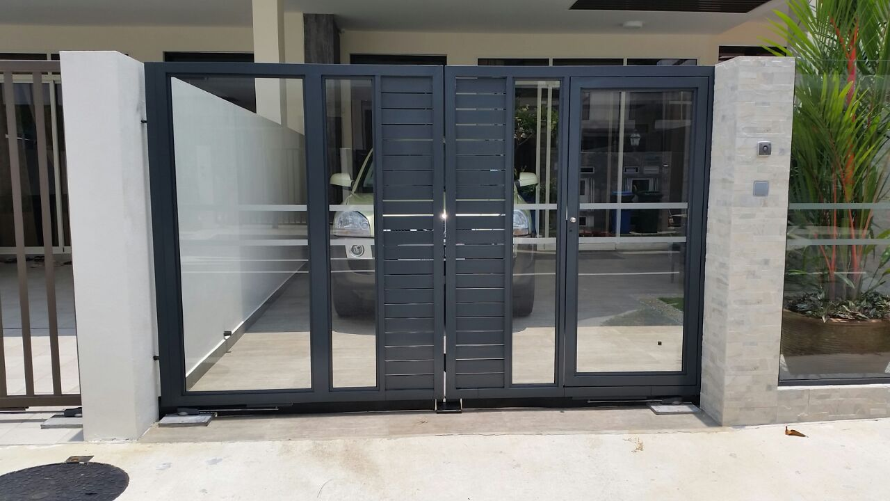 Aluminium Gate Spacedor Marketing Pte Ltd