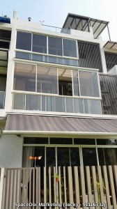 Aluminium Composite Panel Roofing for Landed Property