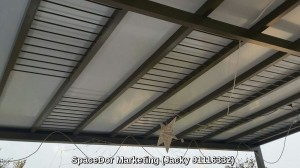 aluminium composite panel shelter attic floor