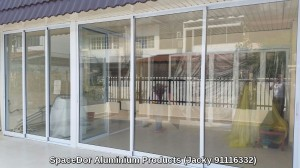 heavy duty aluminium sliding glass door