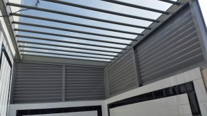 Aluminium Louvers Window