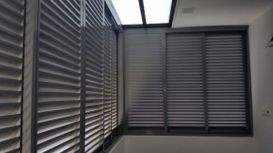 Aluminium Louvers Window with Skylight Roofing