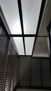 Louvers Window with Skylight Roofing